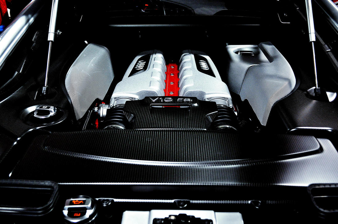 Audi R8GT Engine by FT69