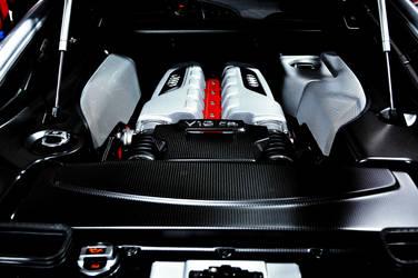 Audi R8GT Engine