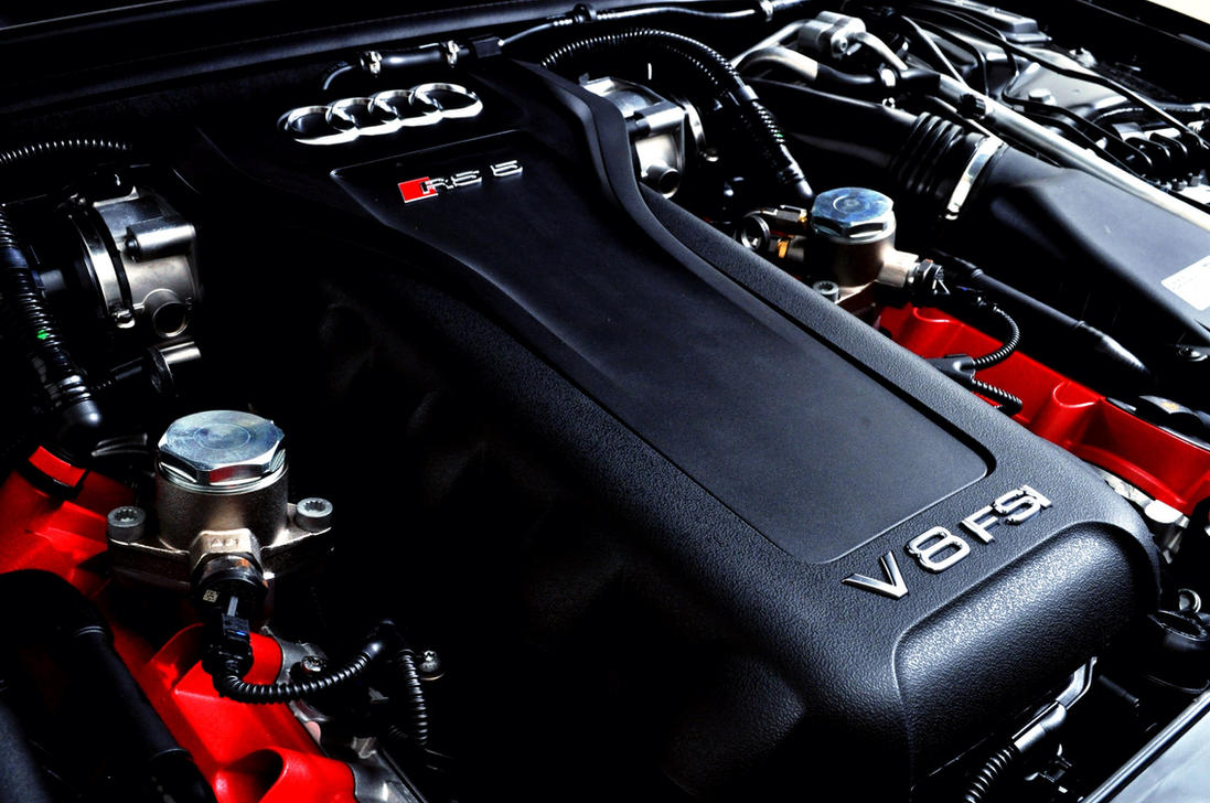 Audi RS5 Engine by FT69