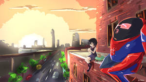 Peni Parker by Drone0