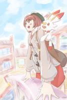pokemon sword shield trainer by Drone0
