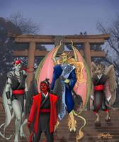 MGC: Tengu at the Gate by MommySpike