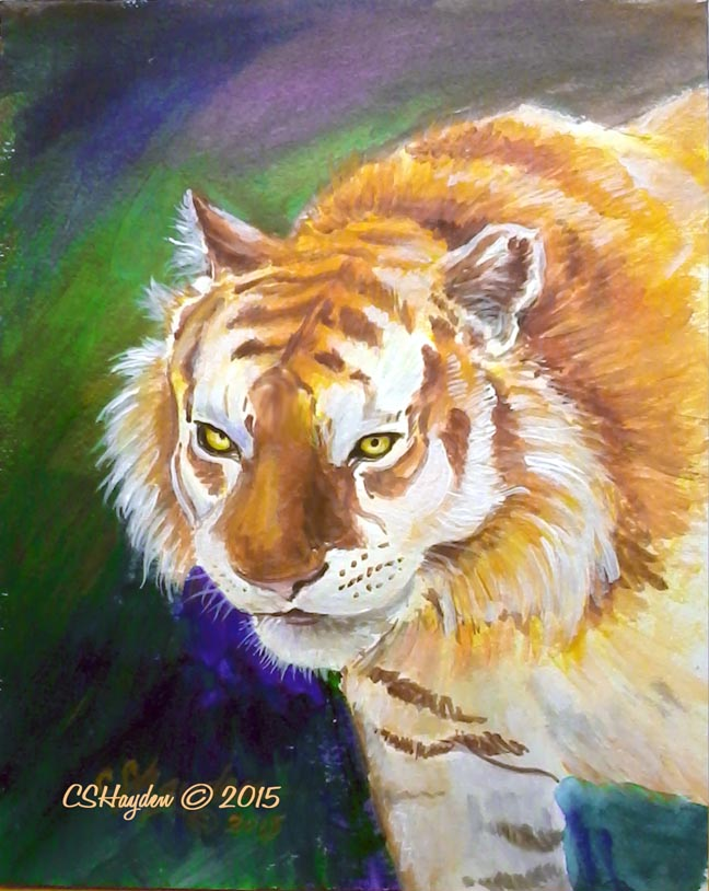 Golden Tiger by MommySpike