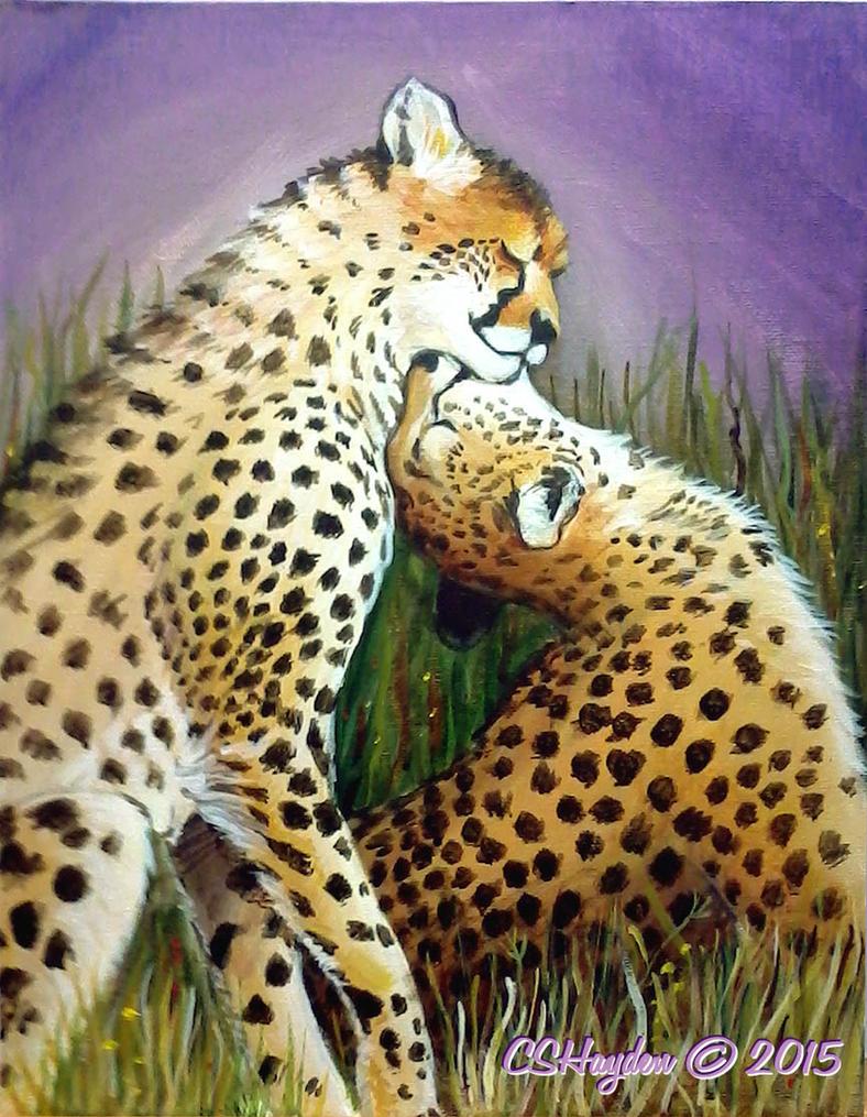 Cheetah Love by MommySpike