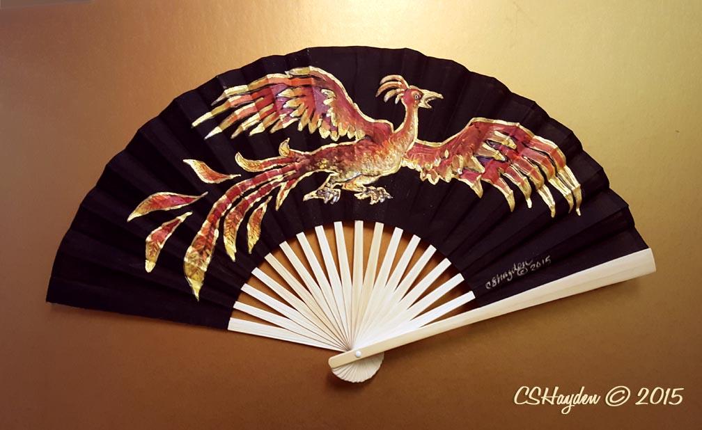 Phoenix Fan by MommySpike