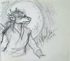 April Drawing 2018: Gurentai by MommySpike