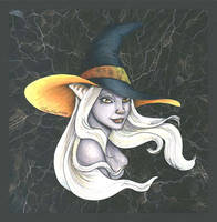 Witch's Hat -- color by MommySpike