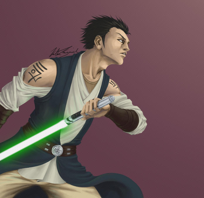 Turin the jedi by 0Pandoras0tear0