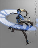 Aayla Secura redesigned by 0Pandoras0tear0