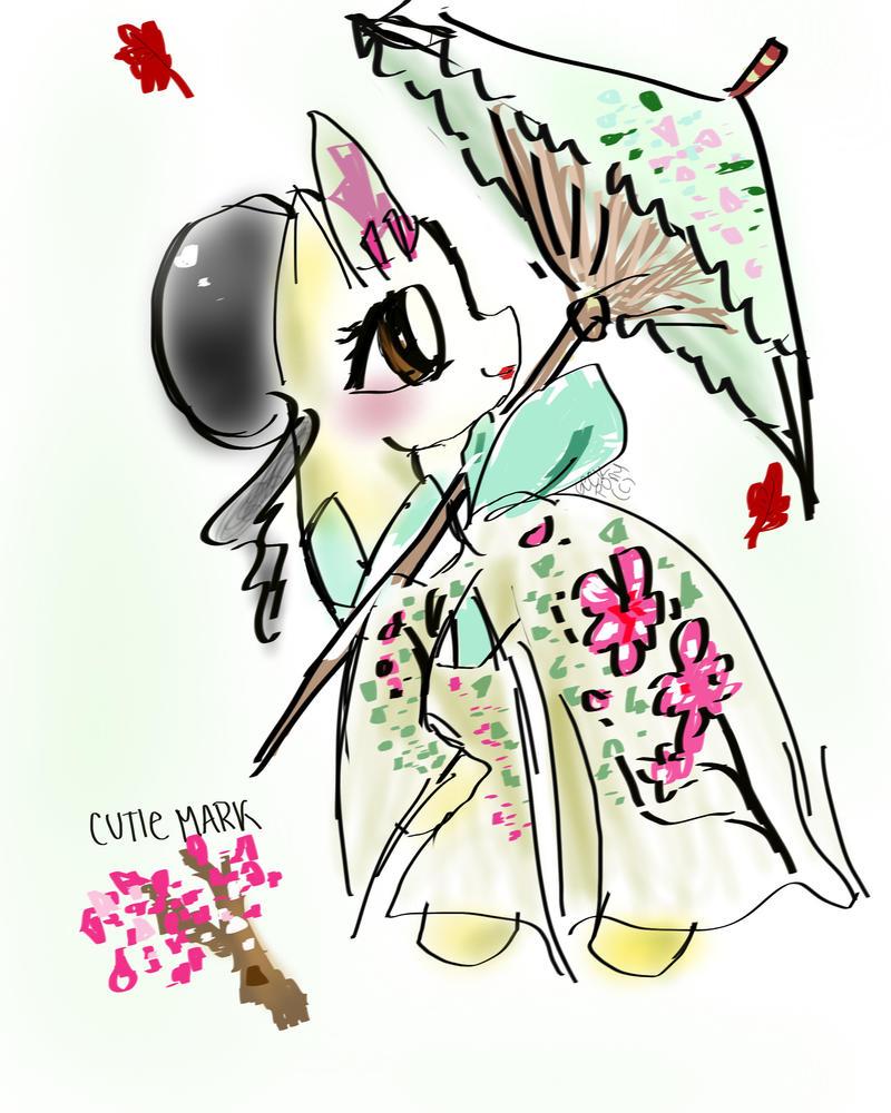 Asian Pony by GeekPony