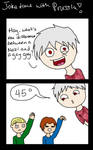 JOKE TIME WITH PRUSSIA