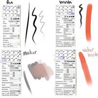 my brush settings by AwHellNo