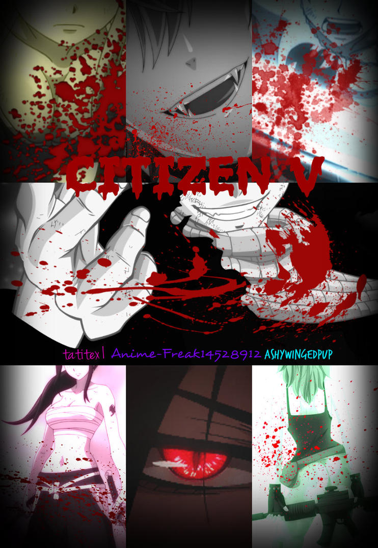 Citizen V -Book Cover- by fairytailwizardchick