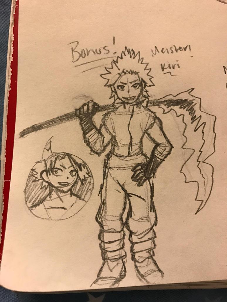 Meister!Eijirou Kirishima by fairytailwizardchick