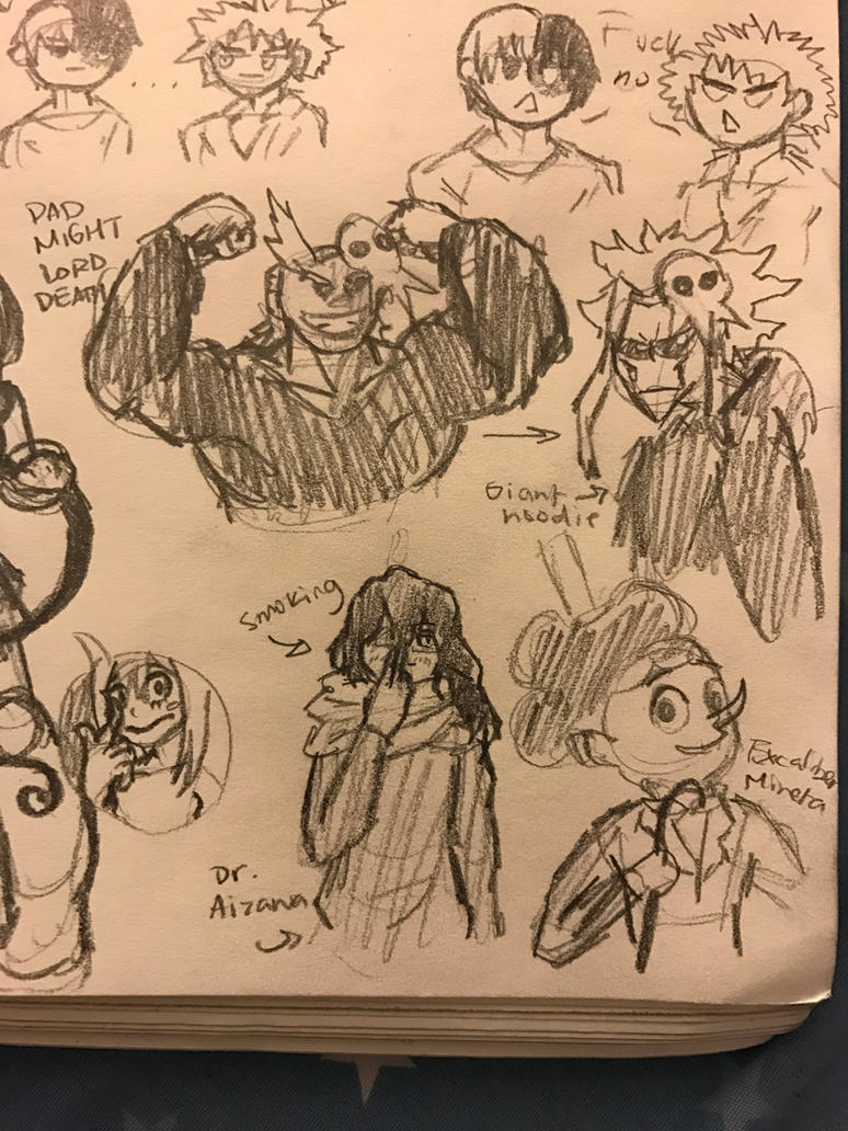 Some Extra for BNHA Soul Eater AU by fairytailwizardchick