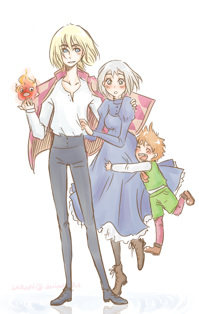 Howl's Family by pearsfears
