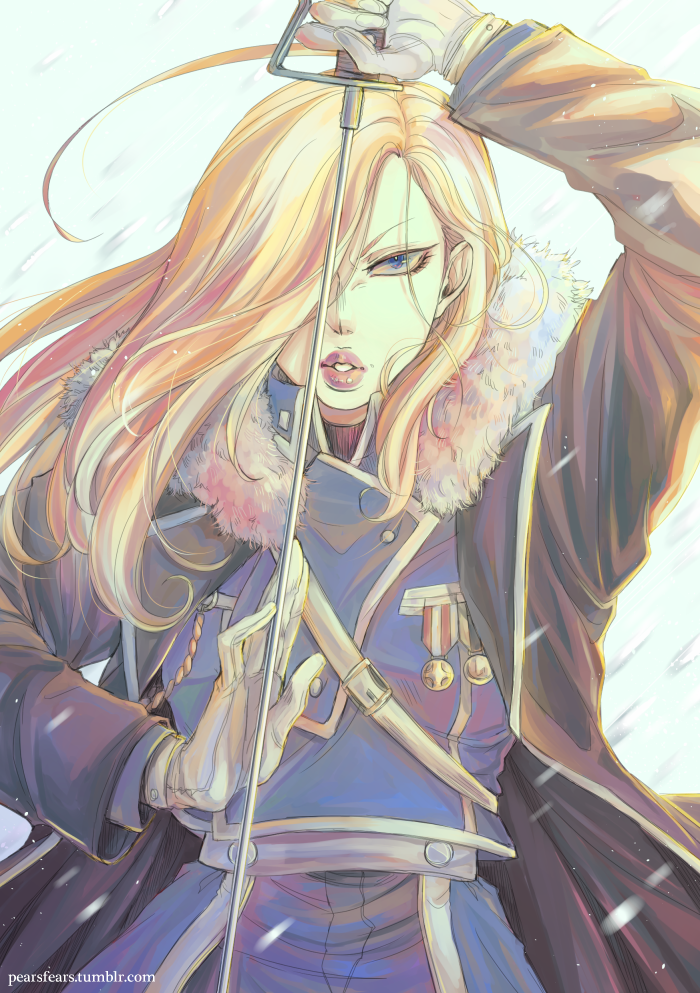 Olivier Armstrong by pearsfears