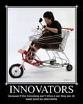Innovative Motivational poster