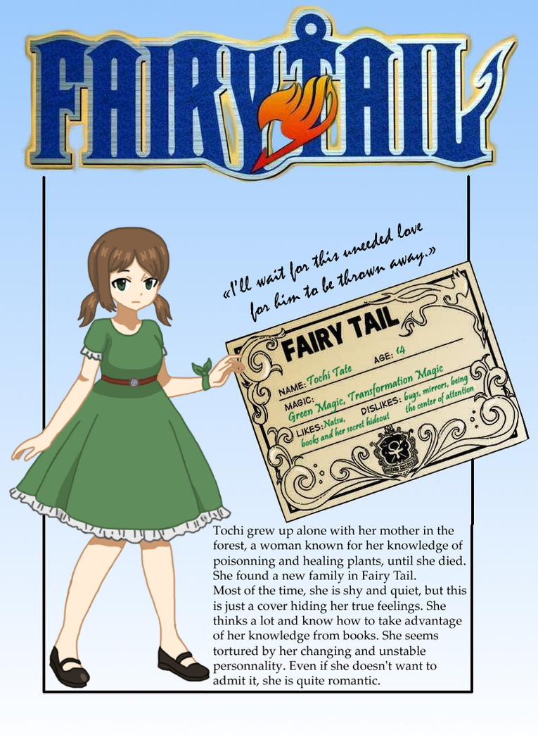 Fairy Tail Oc Template | Tochi S Oc Template By Justtochi On Deviantart