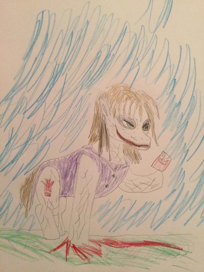 Joker Pony by CedarWoods