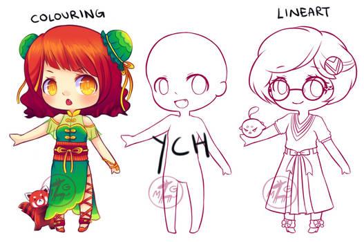 [CLOSED] YCH - Custom Chibi