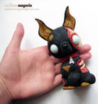 Zombie Dog Totem by Anthrasmagoria