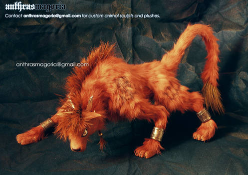 Red XIII poseable plush