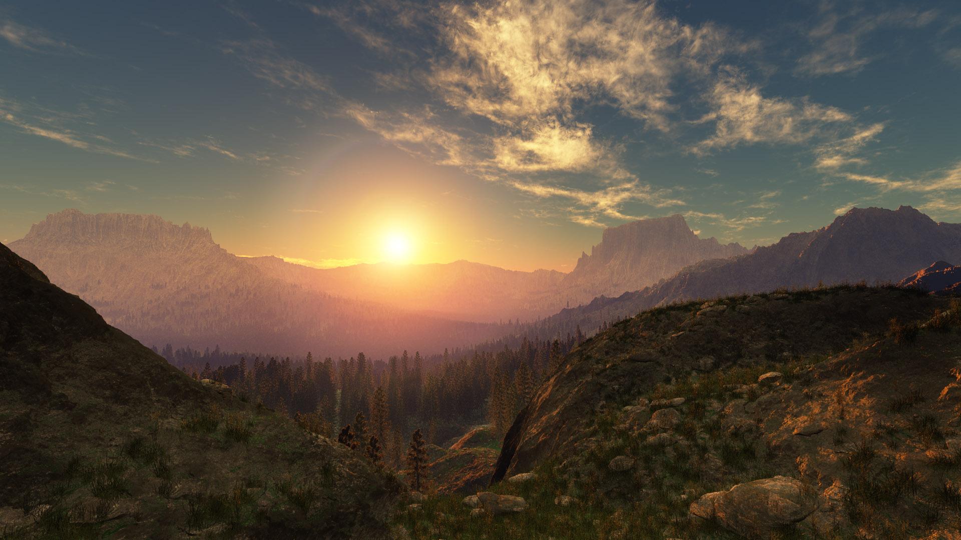 Monas Valley by Smattila