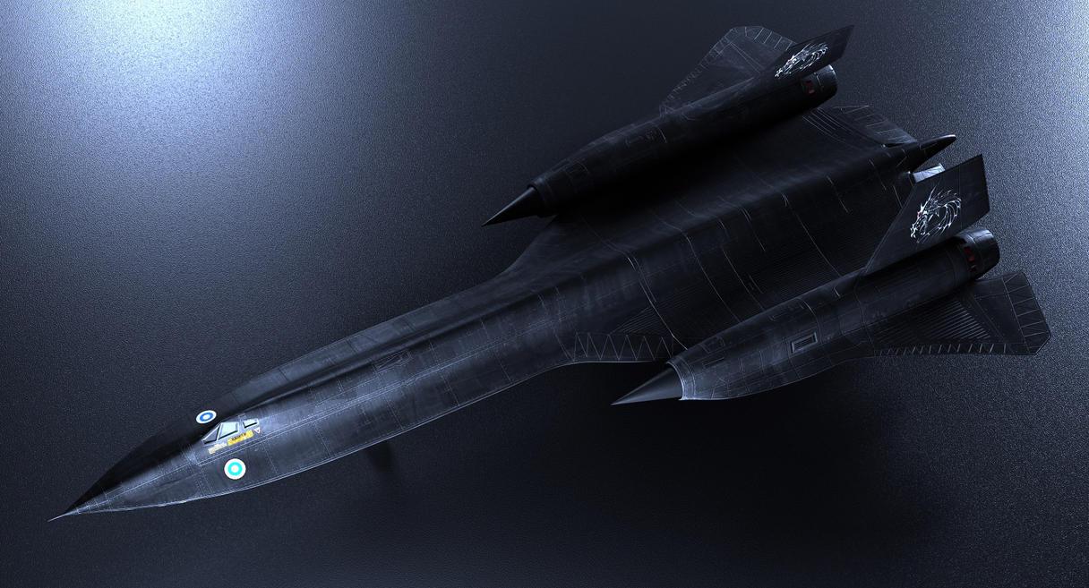 SR-71 by Smattila