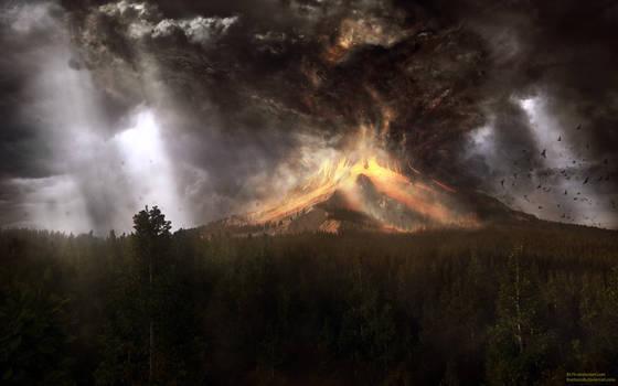Under Burning Skies