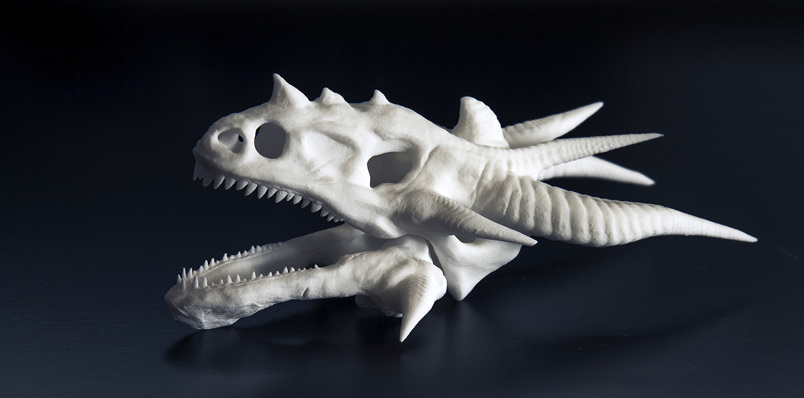 Dragon head  3D-print by Smattila