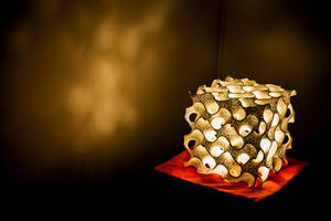 Gyroid Lamp shade design by Smattila