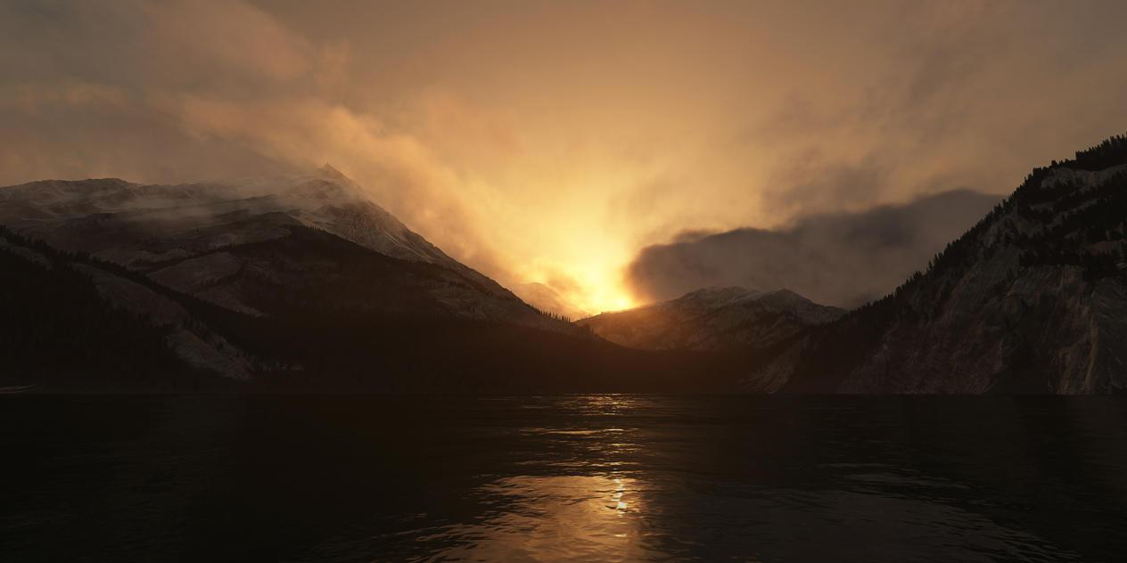 Morning's Veil by Smattila