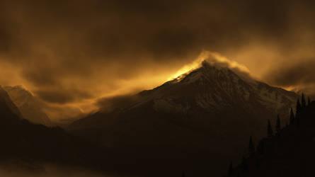 Smoky Mountains by Smattila