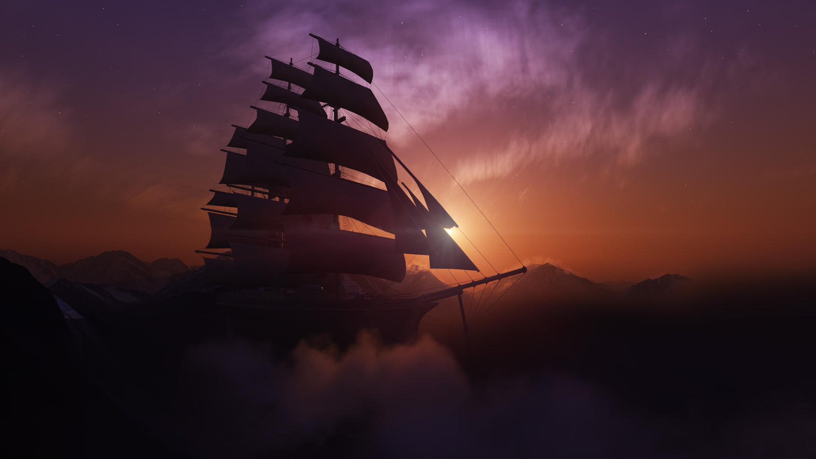 Uncharted seas by Smattila