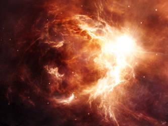 Phoenix Nebula by Smattila