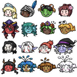 Character Icon Set 2