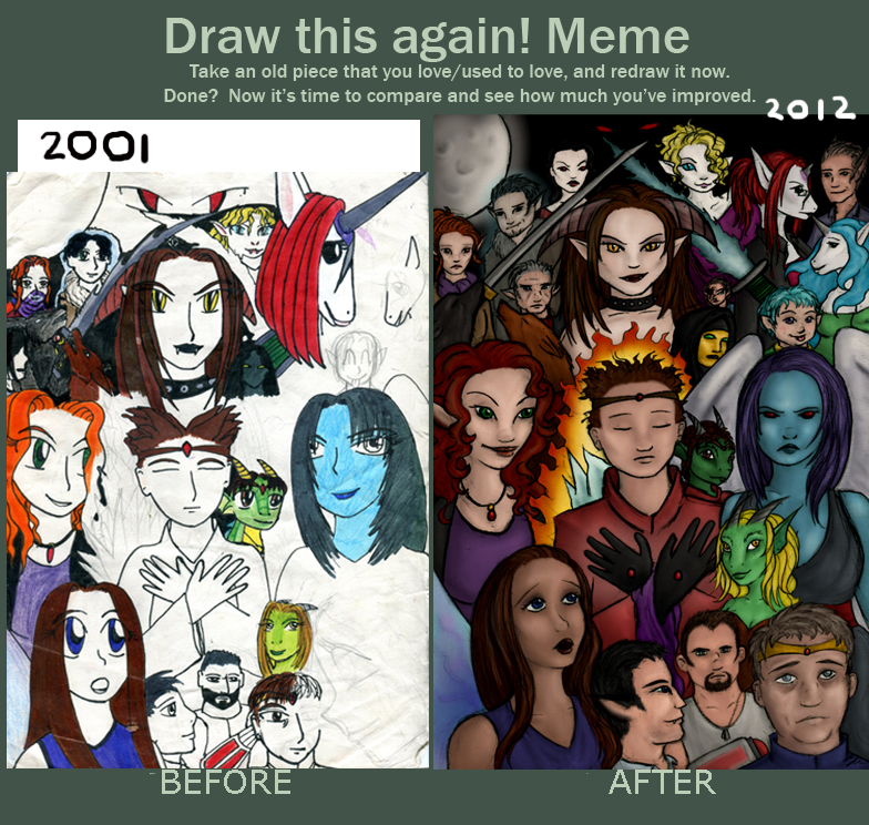 Intellectual Property Meme: Before And After Neo Meme By EmiliAlys On DeviantArt