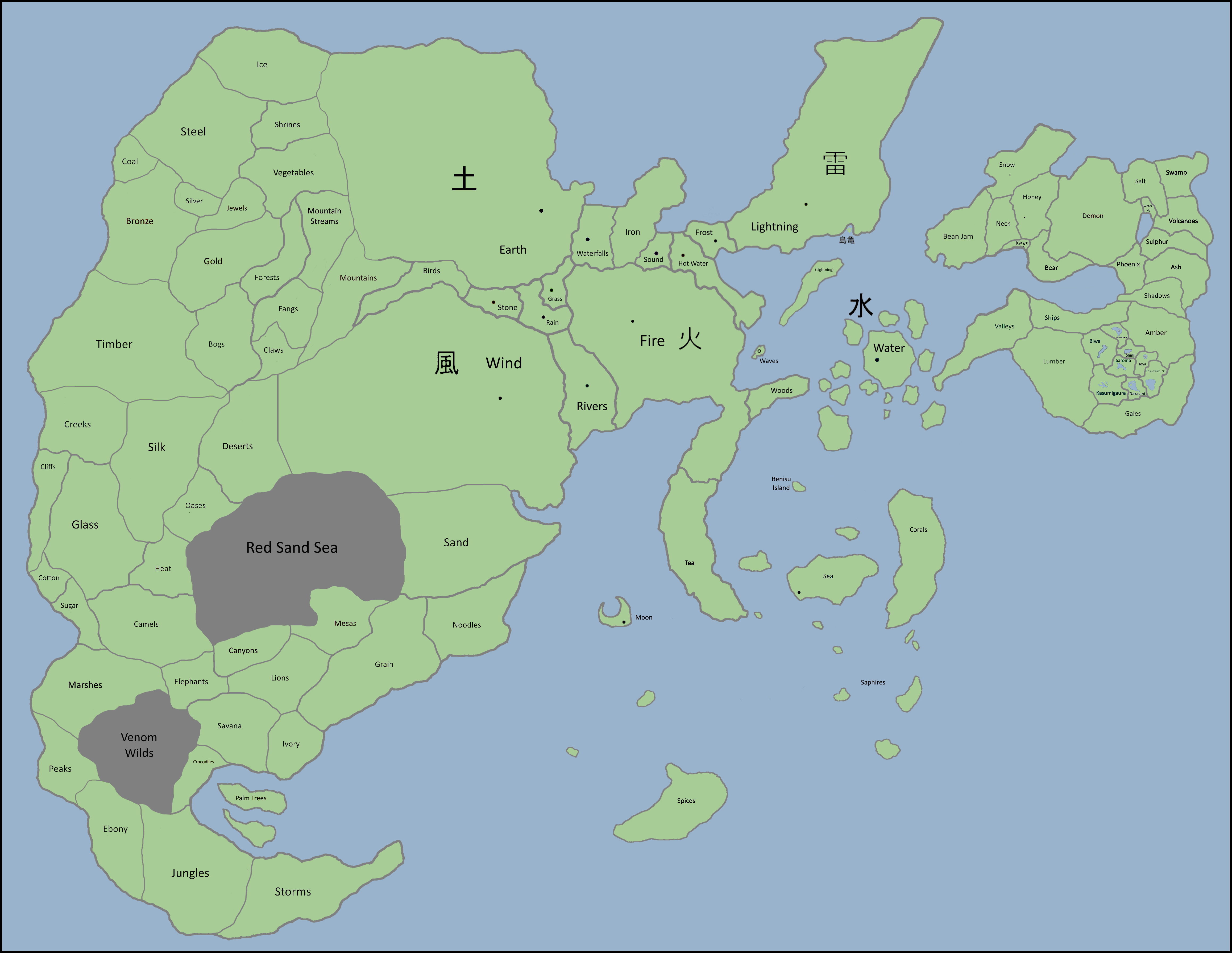 Naruto World Map Canon By Eruaniel On Deviantart Browse and download minecraft naruto maps by the planet minecraft community. deviantart
