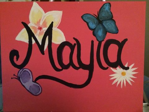 Mayla Painting by PaintsOfHome