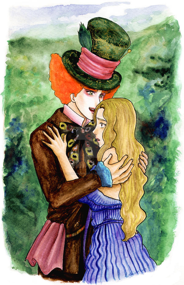 relationship between alice and the mad hatter