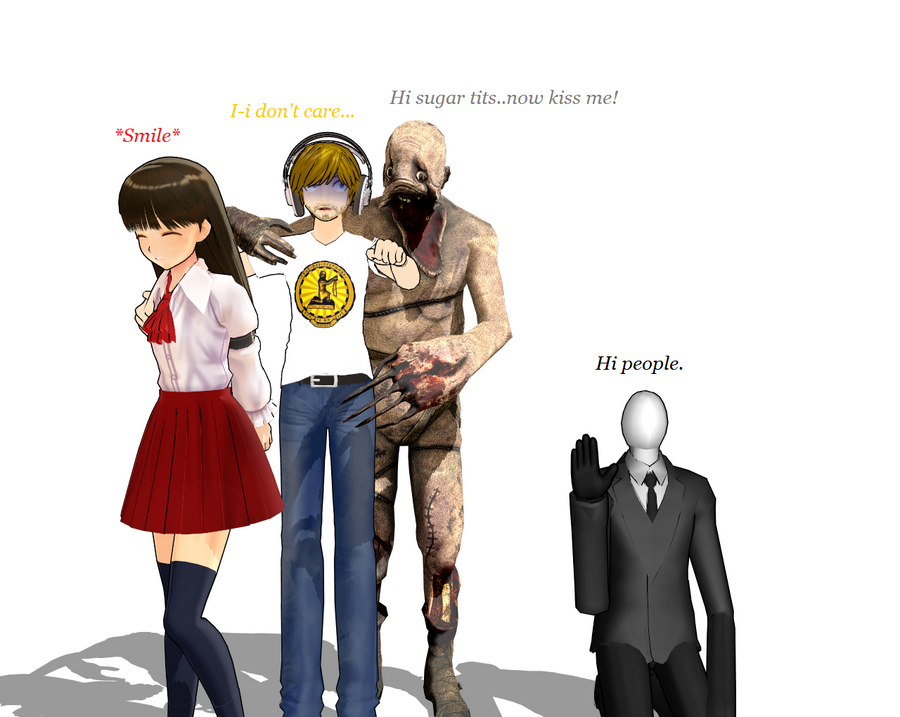PewDie and (happy) Group! XD by OmegaMucca