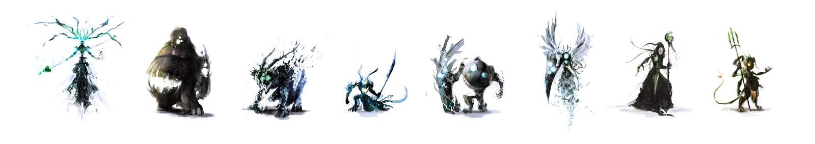 Daemons by Y-mir