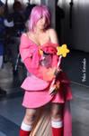 Pink Guardian || Kirby Gijinka