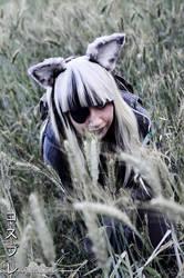 Sneaking    DD cosplay MGSV by GiokaTenshi