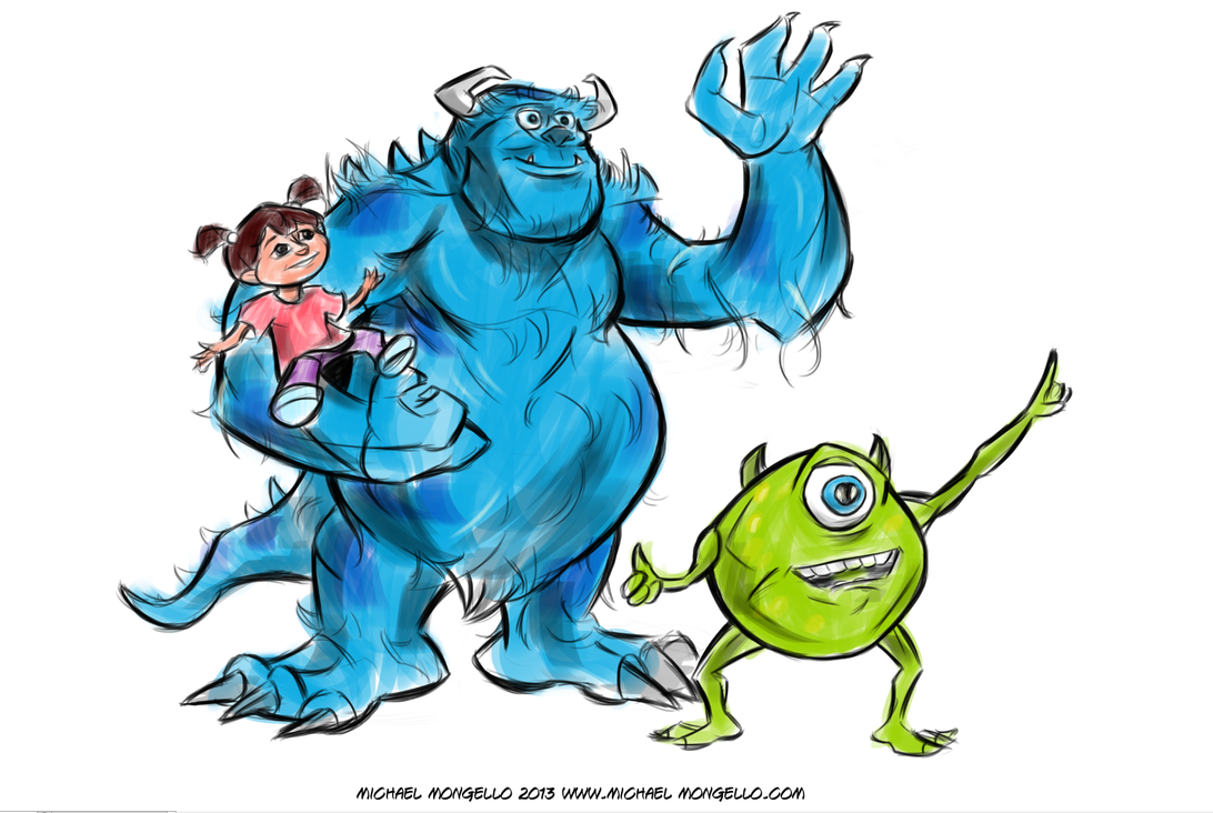 the art of monsters inc pdf