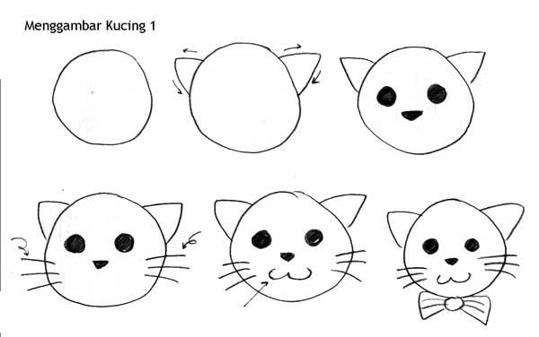 Unduh 89+  Gambar Kucing Simple Lucu