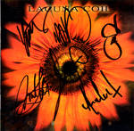 Lacuna Coil Autograph