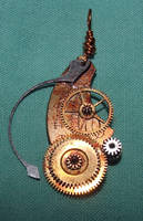 Steampunk Necklace Stock by Aethergoggles-Stock