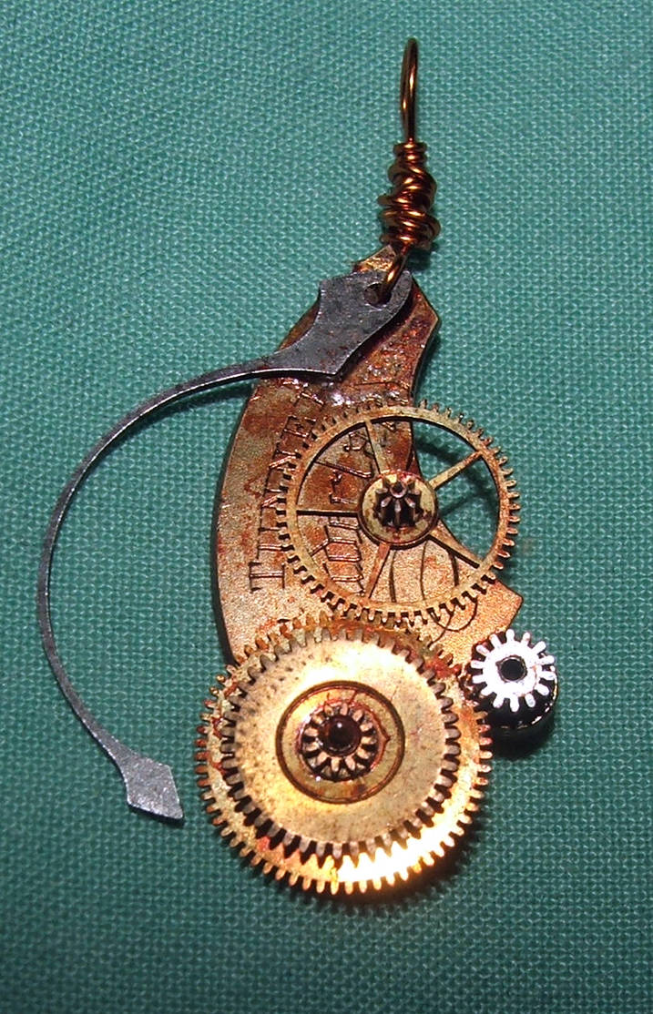Steampunk Necklace Stock